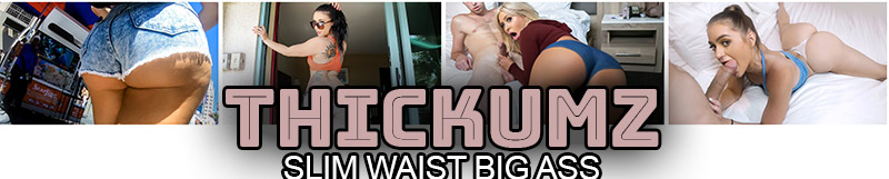 Teen sluts with slim waist and big ass fucked rough